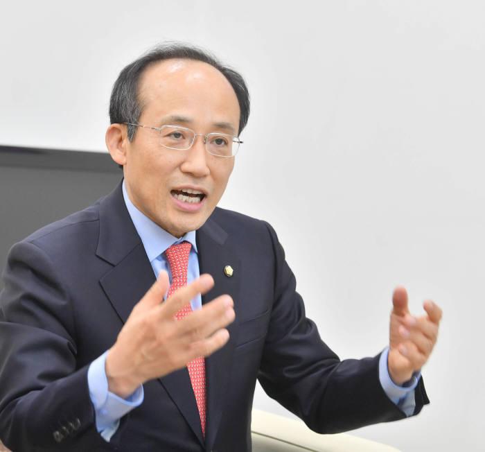 추경호 자유한국당 의원. 사진=박지호기자 jihopress@etnews.com
