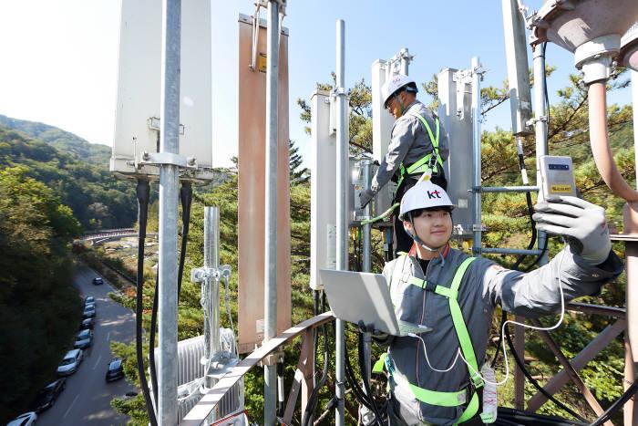 KT, 가을철 명산에 5G 커버리지 구축