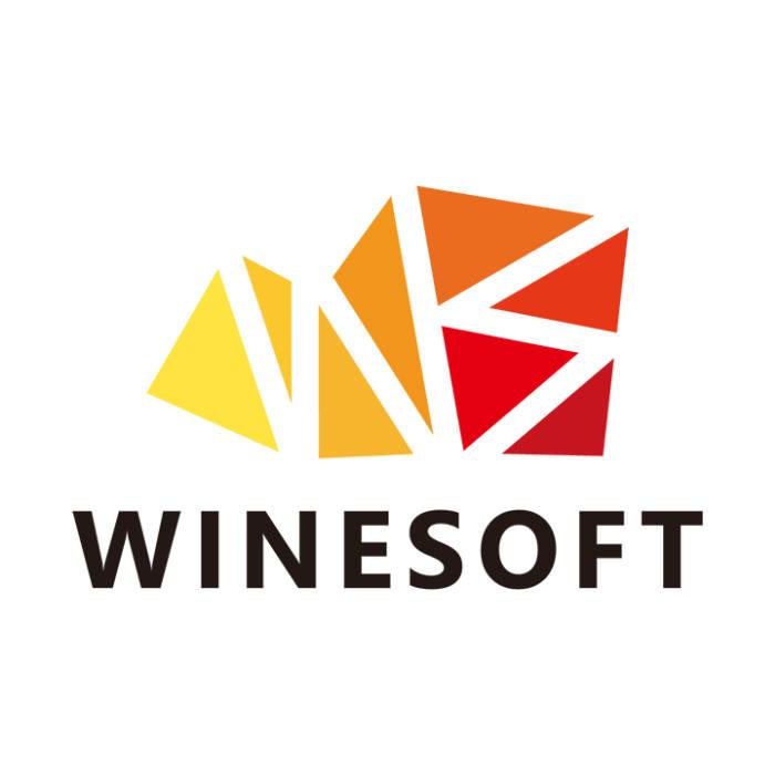 와인소프트 로고.