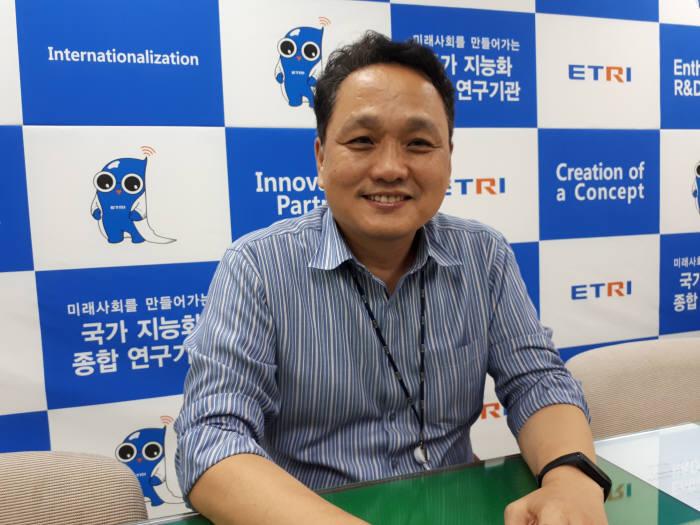김성운 한국전자통신연구원(ETRI) 인공지능(AI)연구소 책임연구원