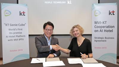 KT, 아시아·중동 호텔에 AI 호텔 서비스 공급