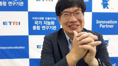 이대식 ETRI 책임연구원, '정확도 90% 암진단 전자코 개발 목표'