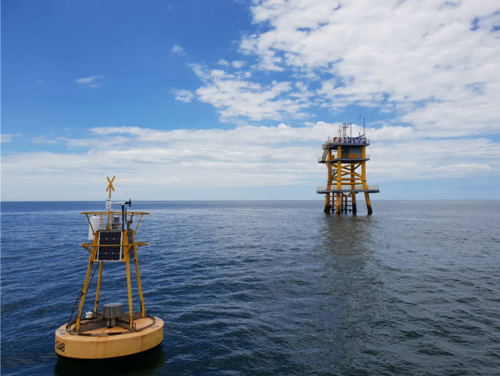 해상풍력 환경모니터링 플랫폼.