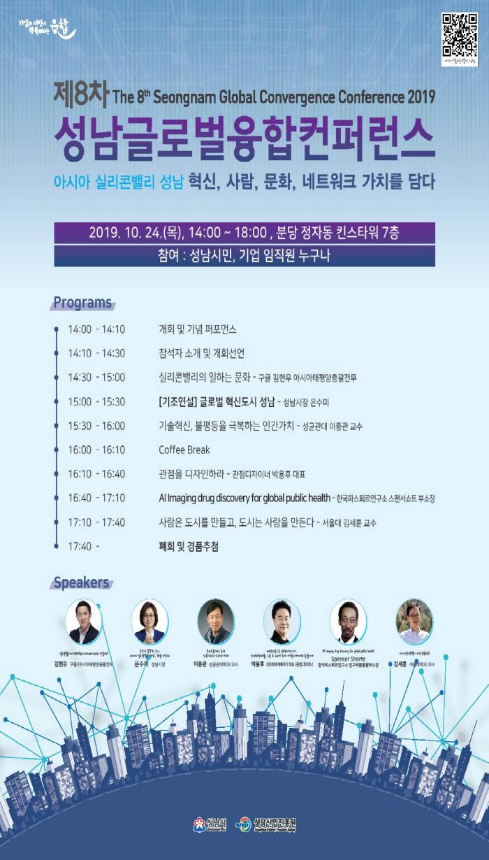성남글로벌융합컨퍼런스 포스터.