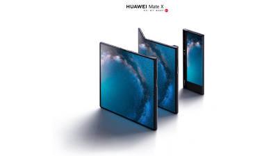 코오롱 '투명 PI' 화웨이 폴더블폰 '메이트X' 탑재…10여년 R&D 결실