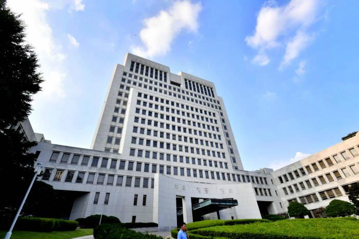 서울 서초동 대법원. 전자신문DB