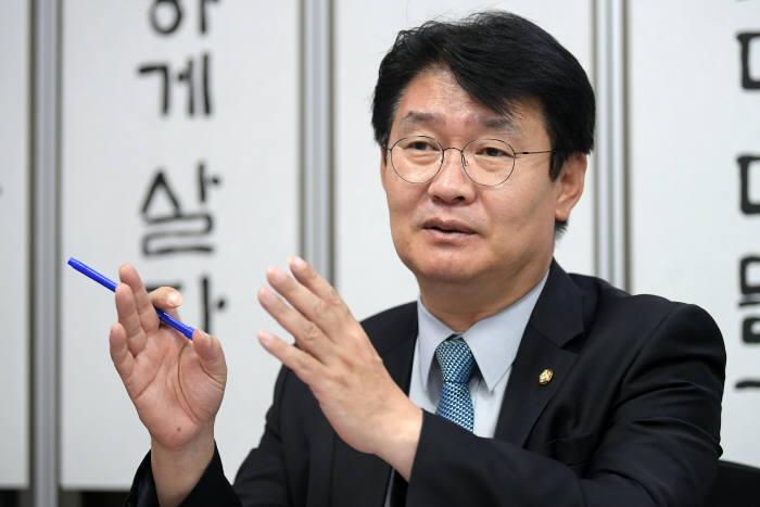 정용기 자유한국당 정책위의장 <사진=이동근 기자>
