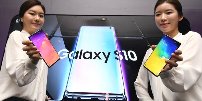 엑시노스 9820이 탑재된 삼성전자 갤럭시S10