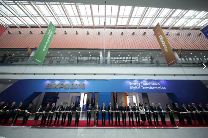 2019 빛가람 국제전력기술 엑스포(BIXPO)가 6일부터 3일간 김대중컨벤션센터 등에서 열린다. 사진은 2018 빅스포 개막식.