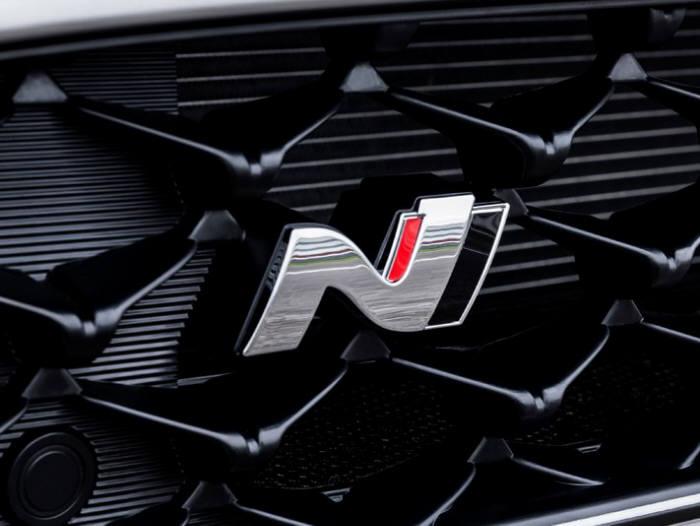 현대자동차 고성능 N 엠블럼.