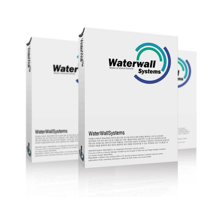 워터월시스템즈가 자체 개발한 내부정보유출방지(DLP) 솔루션 워터월(Waterwall 5.0)가 고객사로부터 호평을 받고 있다. 사진은 제품 이미지.