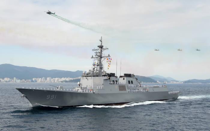 해군, 함선 최초 LTE 스마트십 구축