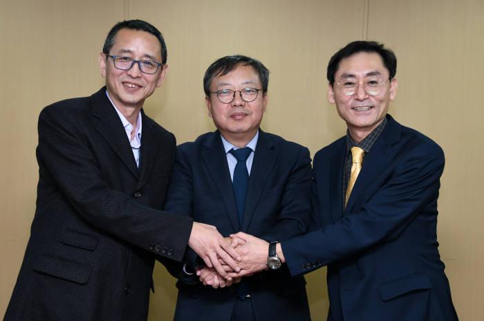 전자신문과 디랩벤처스, 중국 사이버넛과 MOU