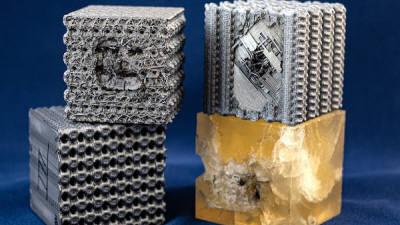 3D 프린팅으로 '방탄' 소재 개발