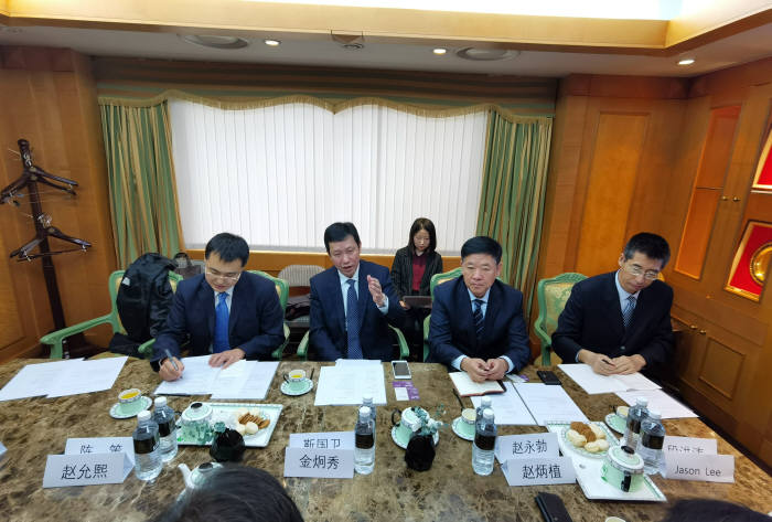 진국위 중국 대련시 부시장 등 관계자들이 방한해 국내 벤처캐피털업계 관계자 등과 협력방안을 논의했다.