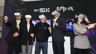 SKT, '신규 5G VR디바이스' 공개