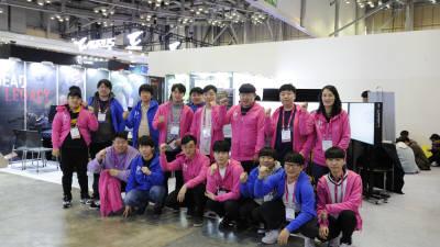 한국IT직업전문학교, 지스타2019에 참가해 호평 받았다