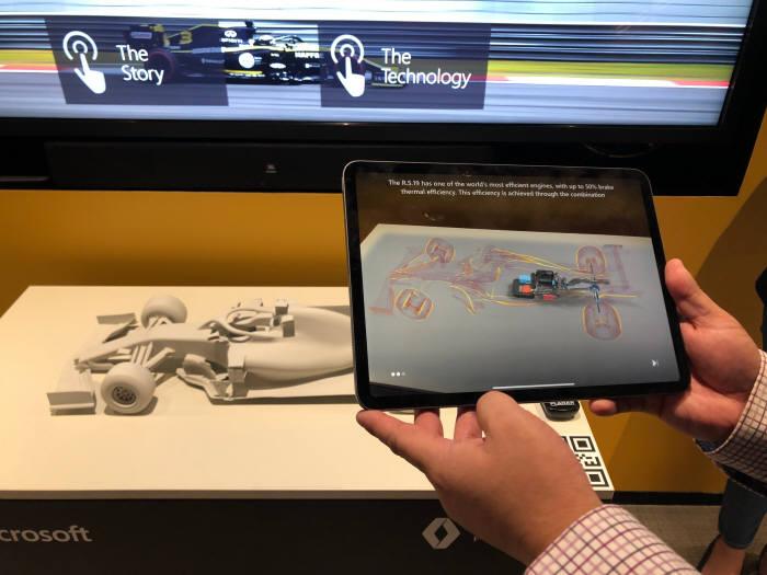 르노 스포츠 포뮬러 원 팀은 MS 애저 머신러닝 기술을 활용해 상온, 트랜 기온, 타이어 정보를 관리한다.
