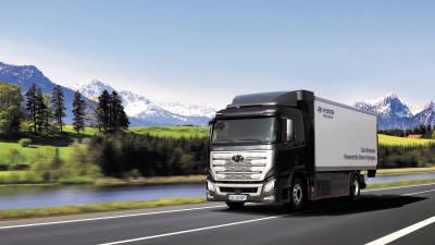 현대차 수소전기트럭 프로젝트 '올해의 트럭 혁신상' 받아