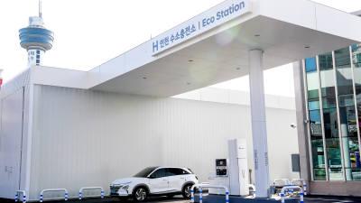 현대차, 인천에 'H 수소충전소' 개소…전국 7곳 구축 완료