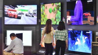올해 역성장한 세계 TV 시장, 내년 올림픽·유로2020 등 힘입어 판매량 반등