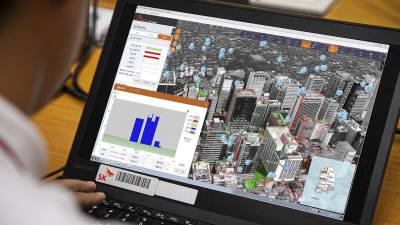 SK텔레콤, 3D 실사 지도로 5G망 설계·관리 고도화