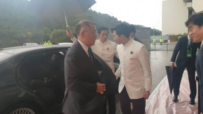 이재용·정의선·최태원 등 그룹 총수들...한아세안 환영 만찬 참석