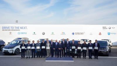 BMW코리아, 특성화고·정부 기관에 '연구용 차량 12대' 기증