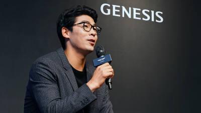 제네시스 홍보대사 '정현 선수', 한국 팬들 만났다