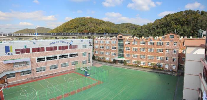 경기모바일과학고등학교 전경