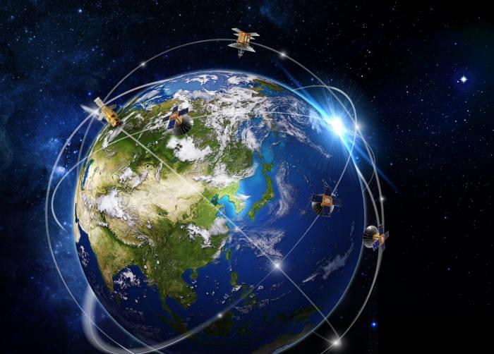 한국항공우주산업 위성운영 개념도