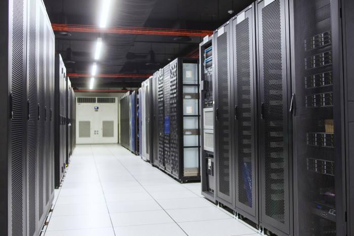 효성인포메이션시스템 DX센터 BMT실. 효성인포메이션시스템 제공