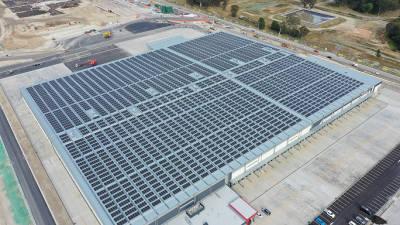 LG전자, 호주에 초고효율 태양광 모듈 7500장 공급