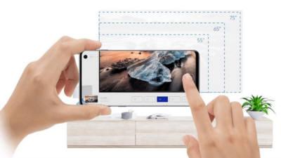 삼성 AR 앱켜면...당신의 집에 딱 맞는 TV 추천 해드려요