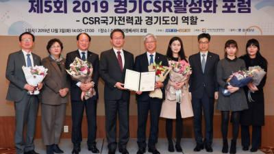 경기신용보증재단, 경기도 공공기관 CSR 2년 연속 최우수