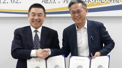 본투글로벌센터, 中치타이허시와 그래핀 분야 협력