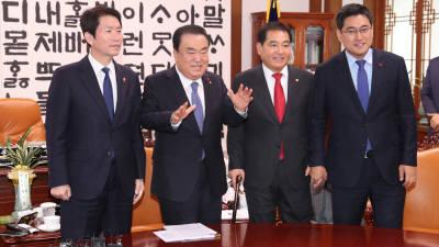 여야 3당, 예산안 10일 처리 시도…한국당 필리버스터 철회 여부에 달려
