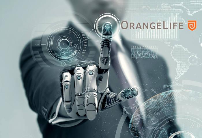 오렌지라이프, 인공지능 접목 '인지기반 RPA' 도입