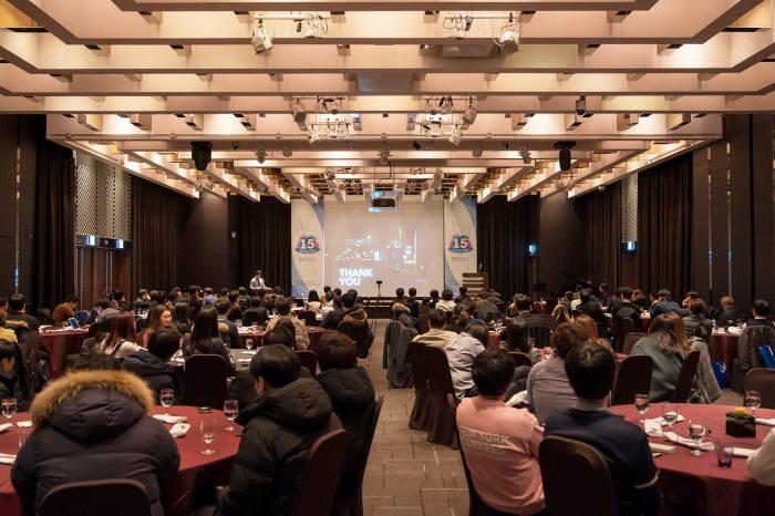 클립소프트는 창립 15주년을 맞이해 주요 고객사를 초청한 가운데 `클립데이 2019를 개최했다.