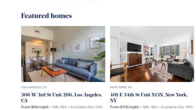 사업 넓히는 에어비앤비, 임대주택 스타트업에 거액 투자