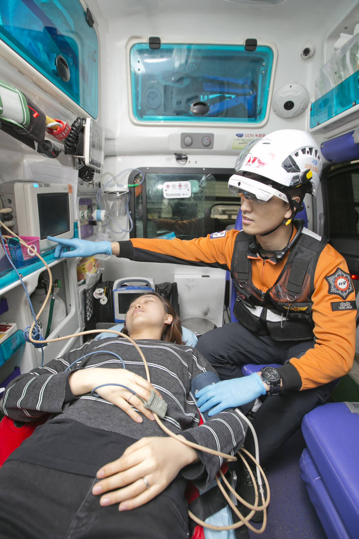 KT, 소방청, 세브란스 병원, 5G와 ICT 기술로 스마트하게 바꾸는 응급의료 서비스 개발