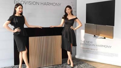 뱅앤올룹슨, 4K OLED TV '베오비전 하모니' 출시…LG전자 OLED 디스플레이 채택