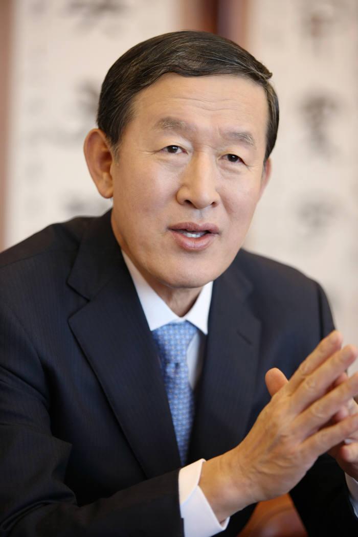허창수 전국경제인연합회 회장.