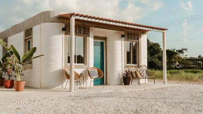 '3D프린팅' 건축 기술로 멕시코 홈리스에게 도움