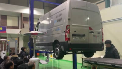 파워프라자, 르노 '마스터' 배터리 교환형 개조전기차 개발