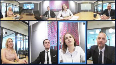 브이제이센터, VR 기반 '360도 원격회의용 카메라' 선보여