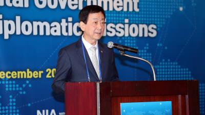 행안부, 주한 외교사절 초청 한국 전자정부 알렸다