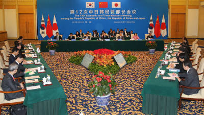제12차 한중일 경제통상장관회의 개최