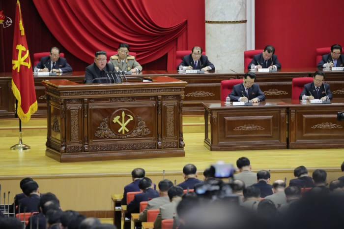 북한, 노동당 제7기 제5차 전원회의