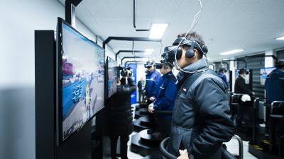 중부발전, 국내 첫 'VR 안전체험교육시스템' 전사 준공